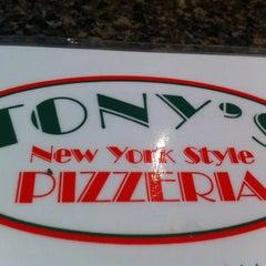 Photo taken at Tony's Pizzeria by Margaret Mason T. on 5/31/2011