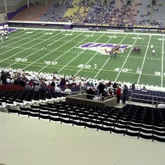 Photo taken at UNI-Dome by Carson T. on 11/10/2011