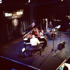 Photo taken at Blue Note Milano by Elena C. on 9/12/2012