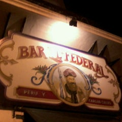Photo taken at Bar El Federal by Fernanda C. on 2/29/2012