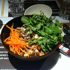 Photo taken at Wagamama by Marcelo N. on 5/27/2011