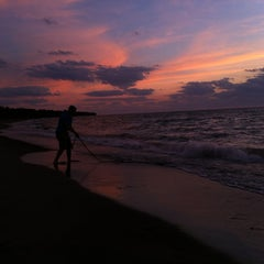 Photo taken at Headlands Beach State Park by Angela M. on 8/6/2012
