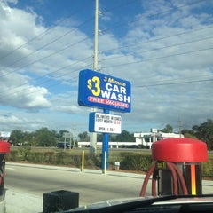 Photo taken at 3 Minute $3  Car Wash by Jimmy R. on 11/8/2011