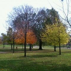 Photo taken at Horner Park by Zach S. on 10/30/2011