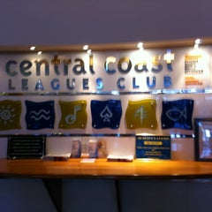Photo taken at Central Coast Leagues Club by Adam E. on 1/22/2011