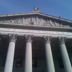 Photo taken at New York Supreme Court by Eric R. on 4/14/2011