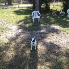 Photo taken at Estero Community Park Dog Run by Hank A. on 1/18/2012