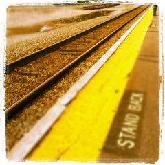 Photo taken at Walpole Train Station by Derek M. on 5/11/2012