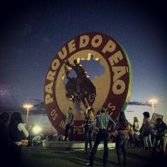 Photo taken at Parque do Peão by Rafael S. on 8/18/2012