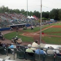 Photo taken at Dutchess Stadium by Nancy M. on 7/25/2012
