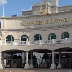 Photo taken at Churchill Downs by Ilana B. on 3/7/2012