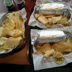 Photo taken at Moe's Southwest Grill by Tiffany T. on 8/27/2012