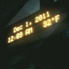 Photo taken at College Place Bus Stop by Deepak B. on 12/1/2011