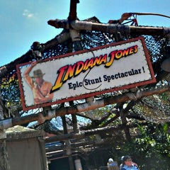 Photo taken at Indiana Jones Epic Stunt Spectacular! by Nick S. on 9/13/2011