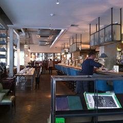 Photo taken at The Riding House Café by Matt on 3/10/2012