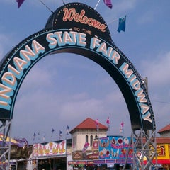 Photo taken at Indiana State Fairgrounds by Michael B. on 8/4/2012