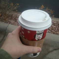 Photo taken at Starbucks by Amy D. on 11/25/2011
