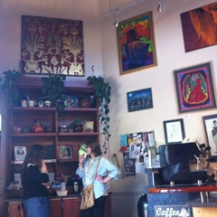 Photo taken at Eco Coffee House by Scott W. on 3/16/2012