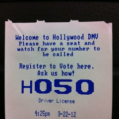 Photo taken at Department of Motor Vehicles by Carol 'Red E. on 3/22/2012