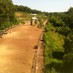 Photo taken at Piedmont Park Dog Park by Christopher T. on 5/20/2012