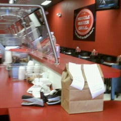 Photo taken at Muscle Maker Grill by claudia s. on 3/17/2011