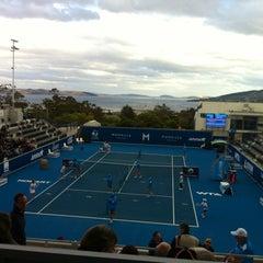 Photo taken at Hobart International Tennis Centre by Belinda on 1/9/2012