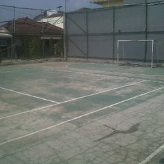 Photo taken at Lapangan Tennis Margaasih by N9NE-O on 6/12/2012