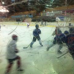 Photo taken at Ledena Dvorana by Manolis P. on 3/25/2012