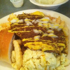 Photo taken at Mark's Texas Hots by Andrew on 7/1/2012