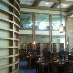 Photo taken at Biblioteca by Christian L. on 1/13/2012