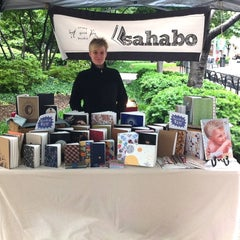 Photo taken at Ballston Arts Market by Sande E. on 5/14/2011