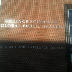 Photo taken at Gillings School of Global Public Health by Chelsea D. on 11/7/2011
