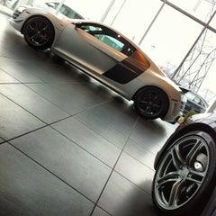 Photo taken at Audi Wilsonville by Scott M. on 4/4/2012