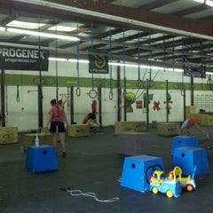 Photo taken at Crossfit Of Greensboro by Jodi L. on 4/17/2012