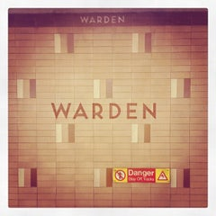 Photo taken at Warden Subway Station by Winston S. on 5/7/2012