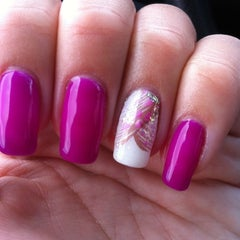 Photo taken at Polished Nails & Spa by Karley C. on 7/30/2012