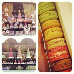 Photo taken at Ladurée by Angela on 3/31/2012