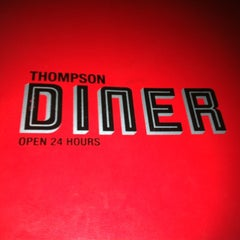 Photo taken at Thompson Diner by Agnes L. on 8/6/2012