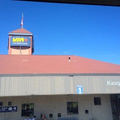 Photo taken at VIA Rail Kingston by Christopher Y. on 9/1/2012