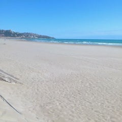 Photo taken at Playa Torre Sant Vicent by mhetralla .. on 3/19/2012
