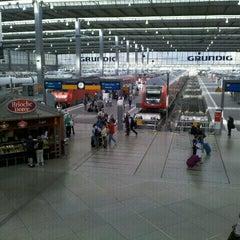 Photo taken at München Hauptbahnhof by rokr on 8/24/2012