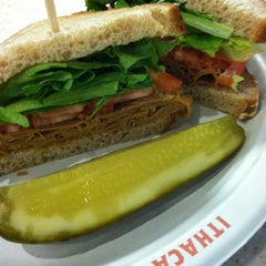 Photo taken at Collegetown Bagels by Aimee Dars E. on 5/29/2012