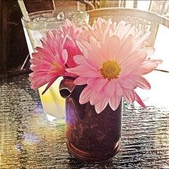 Photo taken at Waffle Era Tea Room by Willo G. on 6/16/2012