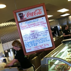 Photo taken at Real Food Cafe by Bryan N. on 2/18/2012