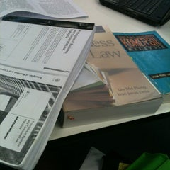 Photo taken at UMS Library by Fieqah M. on 6/14/2012