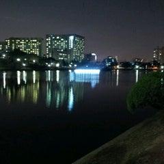 Photo taken at 건국대학교 (Konkuk University) by Myeongseob L. on 4/6/2012