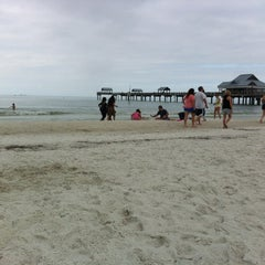 Photo taken at Clearwater Beach Pier by Lisa M. on 2/18/2012