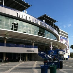 Photo taken at Amalie Arena by Suzan D. on 2/23/2013