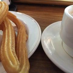 Photo taken at Cafetería Santander by Antonio J. on 12/15/2014
