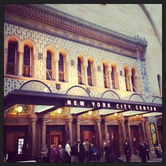 Photo taken at New York City Center by Kimberly F. on 5/11/2013